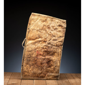 Blackfeet Buffalo Hide Parfleche Envelope, From the James B. Scoville Collection