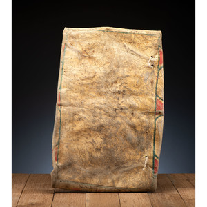 Blackfeet Buffalo Hide Parfleche Envelope, From the James B. Scoville Collection