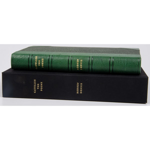 [Literature - Classic - Fine Printing] Thornwillow Press Limited Edition Catullus Translated by Rodney Dennis - #35 of 200 in Fine Binding