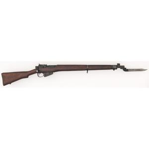 ** Fazakerley British No. 4 Mk 2 Enfield Rifle with Bayonet
