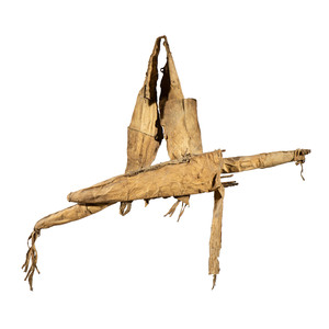 Plains Mountain Lion Hide Bow Case and Quiver, From the James B. Scoville Collection