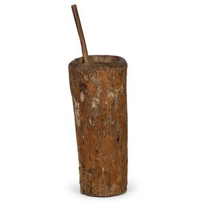 Haudenosaunee (Iroquois) Wood Mortar and Pestle
