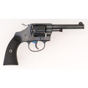 ** Colt New Police Revolver in Pouch