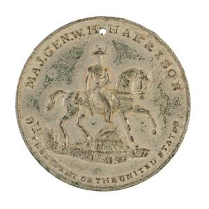 William Henry Harrison Rare Inauguration Medal