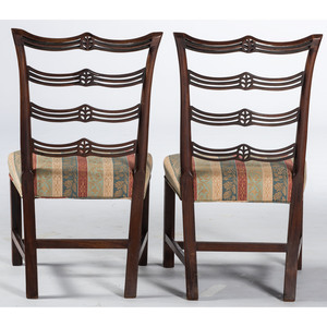 Rare Philadelphia Chippendale Side Chairs, Attr. Daniel Trotter