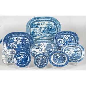 Blue Willow English Porcelain