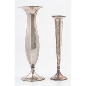 Sterling Flower Vases
