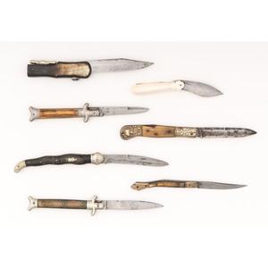 Lot of Seven Antique Folding Knives