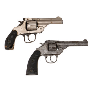 Lot Of Two Forehand Arms Co. DA Revolver & Iver Johnson Revolver