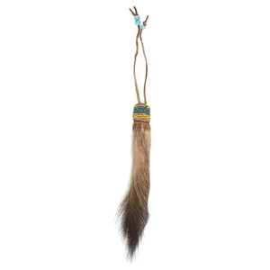 Plains Deer Tail Amulet, From the James B. Scoville Collection