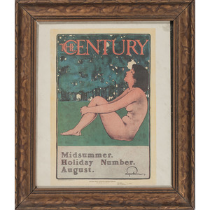 Maxfield Parrish Posters, Including for Scribner's and The Century Magazines, Plus