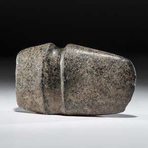 A Granite 3/4 Grooved Axe, 9 in.