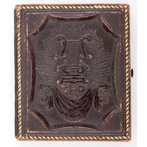 Mexican War-Era Ninth Plate Daguerreotype of an Officer
