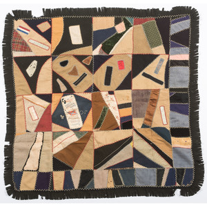 Quilt with 1897 UCV Ribbon