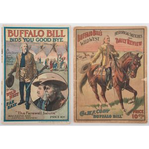 Buffalo Bill and Wild West Show Programs, Souvenirs, and More
