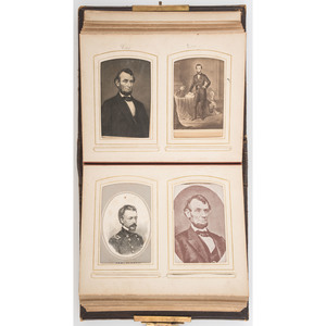Early Photography Collection, Incl. Daguerreotype, Two CDV/Tintype Albums, Large Format Photographs, and More