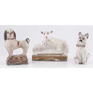 Chalkware Animals