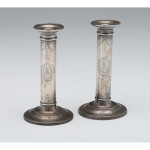 Goodnow & Jenks Sterling Candlesticks