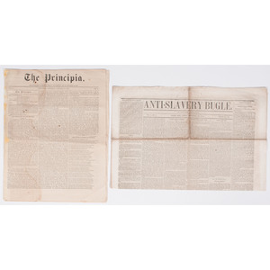 Four Anti-Slavery Newspapers, 1845-1860