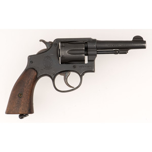 ** WWII Smith & Wesson Victory Model Revolver