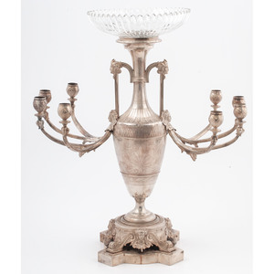 Tiffany & Co. Sterling Candelabra Centerpiece