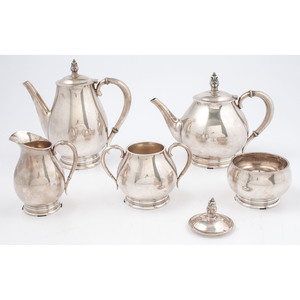 International Sterling Royal Danish Tea and Coffee Service