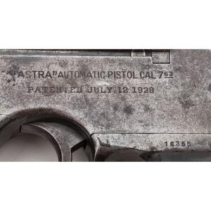 ** Astra Model 900 Pistol