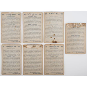 Civil War Cabinet Cards of Generals Published by John C. Taylor, Lot of 13