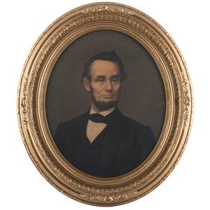 Abraham Lincoln Chromolithograph by E.C. Middleton