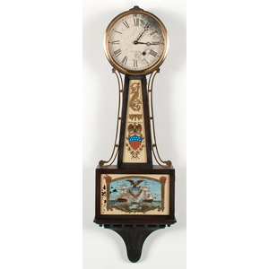 Seth Thomas Banjo Clock