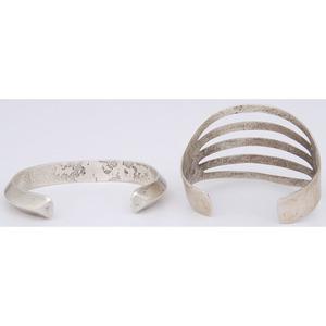 Silver Cuff Bracelets