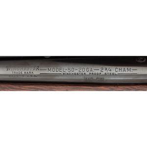 ** Winchester Model 50 Deluxe Shotgun