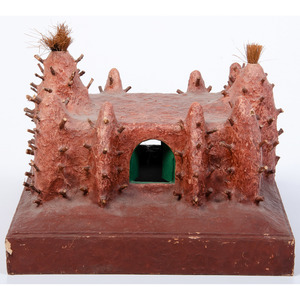 Aboudramane (Senegalese, b. 1961) Terra Cotta Sculpture, From the Collection of Robert B. Riley, Urbana, IL.