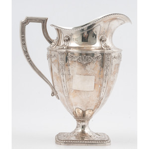 Reed & Barton Neoclassical Sterling Water Pitcher
