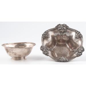 American Sterling Bowls, Fuchs & Stone
