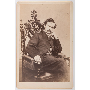 John Wilkes Booth Cabinet Card