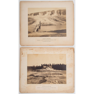 F. Jay Haynes Yellowstone National Park Photographs, Lot of 5