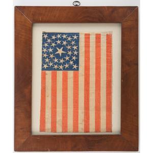 Civil War-Period 34-Star Parade Flag