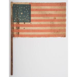 Civil War-Period 35-Star Parade Flag