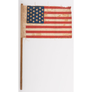 Rare 27-Star US Parade Flag Commemorating Florida