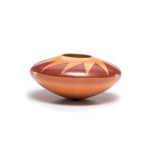 Dextra Quotskuyva Nampeyo ( Hopi-Tewa, b. 1928) Polychrome Pottery Jar, From the Collection of Robert B. Riley, Urbana, Illinois