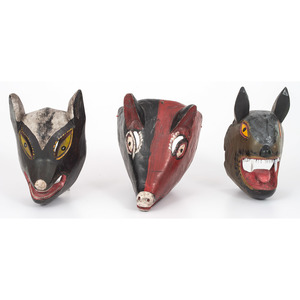 Mexican Festival Animal Masks