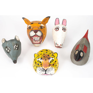 Folk Art Animal Masks