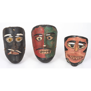 Folk Art Masks