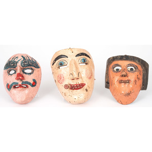 Central American Folk Art Masks