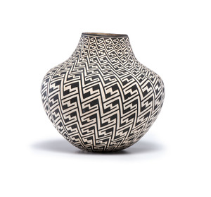 Lucy Martin Lewis (Acoma, 1890 - 1992) Pottery Jar, From the Collection of Robert B. Riley, Urbana, IL.