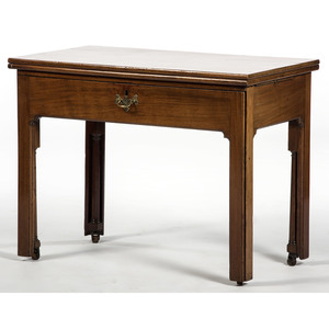 English Chippendale-style Writing Table
