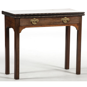 Chippendale-style Game Table