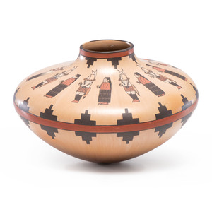 Ida Sahmie (Dine, b. 1960) Pottery, From the Collection of Robert B. Riley, Urbana, IL.