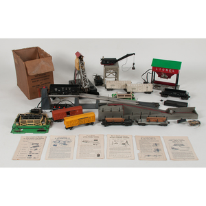 Lionel Coal, Lumber, Cattle, and Milk Sets